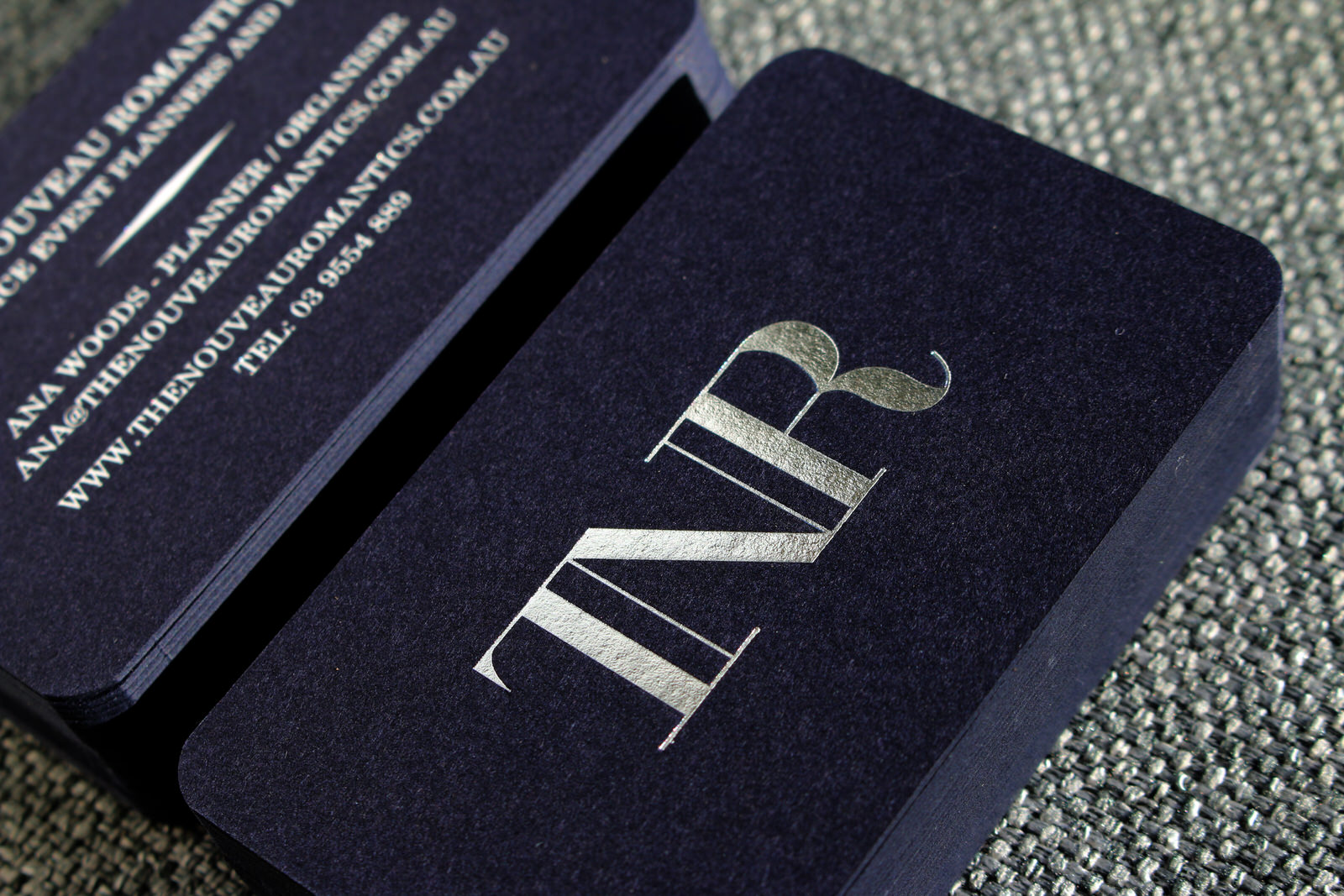 Foil Business Cards Gold Foil Stamped Cards From 137